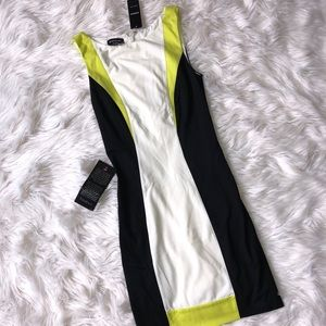 NWT Bebe ColorBlock Dress